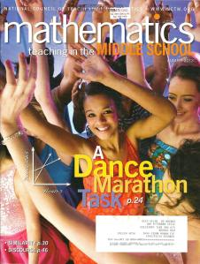 Mathematics Teaching in the Middle School August 2012 Volume 18 Number 1