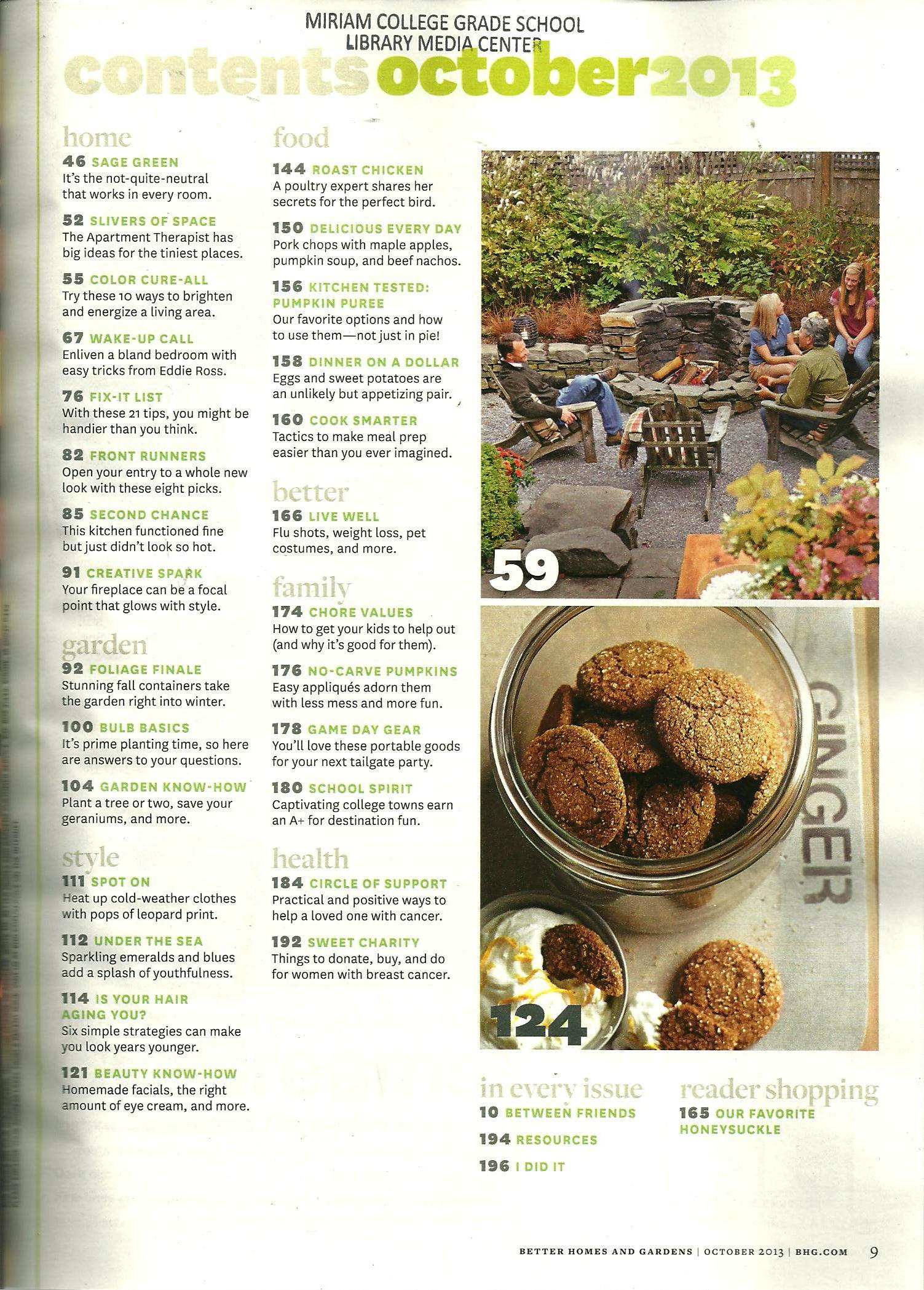 better homes and gardens magazine october 2013 pictures to pin on - Free Better Homes And Gardens Magazine