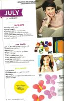 Good Housekeeping July 2013 Volume 15 number 6 Table of Contents