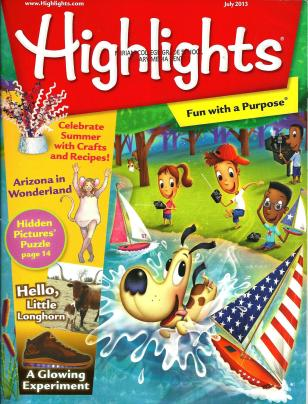 Highlights for Children July 2013 Volume 68 Number 7 Issue Number 741 (1)